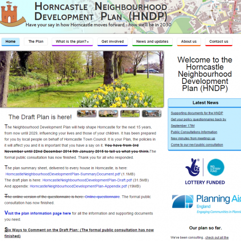 Horncastle Neighbourhood Development Plan