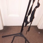 Bass guitar, stand, tuner, neck strap for sale Sheffield